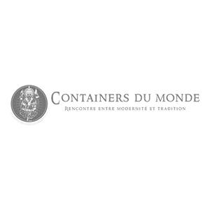 Logo Containers du monde