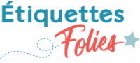 Logo Etiquettes folies